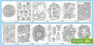 Draw the details winter worksheets. Free Mindfulness Colouring Sheets Bumper Pack For Children