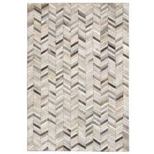 viana handmade leather patchwork chevron 8 x10 runner area rug grey rugs carpets best canada