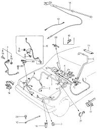 1980 honda civic 3 door 1500 ka 4mt wire harness ground