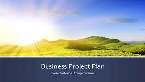 business presentation templates business project plan presentation widescreen office templates
