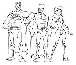 Funny Justice League Coloring For Kids Get Coloring Pages