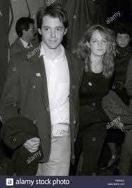 Matthew Broderick und Helen Hunt Undatiertes Foto von John  Barrett/PHOTOlink Stockfotografie - Alamy