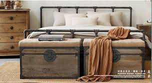 american country loft retro industrial style wrought iron bed wrought iron beds wrought iron bed 18 m water connections bed in hotel trolley from american country loft style