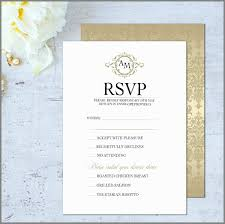 Rsvp Card Sizes Wedding Invitation Rsvp Wording Wedding Invite Rsvp Wording