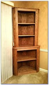 Oak Corner Shelves Wall Mount Extraordinary Wooden Corner Cabinet Wall Mounted Corner Cabinet Bookcase Wooden