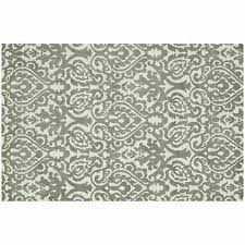 details about new area rug madelyn ivory gray grey 7 6x9 6 soft modern 750 damask tapestry