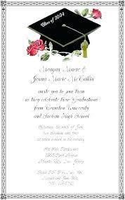Senior Announcement Templates Graduation Invitations Meetwithlisa Info