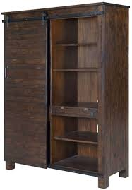 bookcases with doors and drawers. Pine Hill Rustic Door Bookcase Bookcases With Doors And Drawers