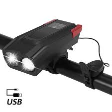 <b>Bicycle Front</b> Light USB Rechargeable <b>Smart Induction Bike</b> ...