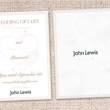 wedding gift list john lewis ~ lading for Wedding Gift Card John Lewis gift listcard for john lewis ➤ wedding John Lewis Logo
