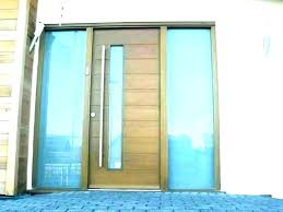 modern front doors with glass wooden front doors with glass front door with glass window entry