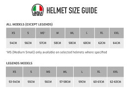 Motorcycle Helmet Measurement Chart Buy Agv K1 Plain Motorcycle Helmet Demon Tweeks