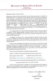 Solicitation Latter Solicitation Letter From Father Benito De Castro Ternate