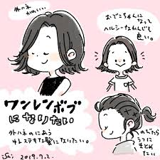 ヘアイラスト Hashtag On Twitter