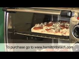 hamilton beach countertop oven with convection rotisserie 31199r