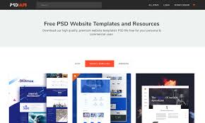Psd Website Templates Free High Quality Designs 20 Top Sites To Download Web And Graphic Design Freebies