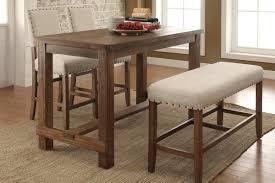 Furniture Of America Sania Counter Height Dining Table Counter Height Dining Table Bench