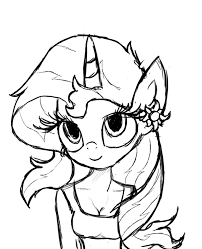 Small Picture My Little Pony Sunset Shimmer Pony Coloring Pages