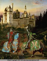 king arthur the knights of the round table paintings of the  king arthur sir lancelot jousting