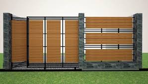 fence design. Wooden Fence Design For Minimalist House S