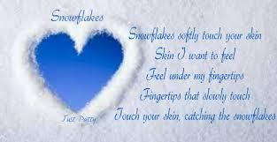 Snowflake Love Quotes Extraordinary Looppoem Snowflakes Petitemagique