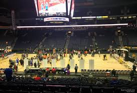 Bridgestone Arena Seating Chart Basketball Bridgestone Arena Section 116 Basketball Seating