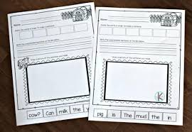 It is generally safe to begin using scissors and glue with this can be done with these worksheets below our you could also create your own. Farm Cut And Paste Sentence Worksheets