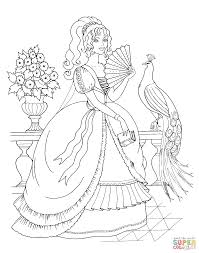 princess and the pea coloring page. click the beautiful princess and peacock coloring pages pea page