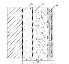 Дипломная работа Штукатурные и отделочные работы ru Рис 1 Сечение стены с высококачественной штукатуркой