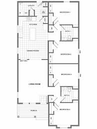 Small House Plans  1200 Square Feet House Plans  Three Bedrooms Small 4 Bedroom House Plans