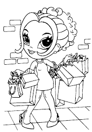 Choose your colors and patterns and click where you want to color. Lisa Frank Coloring Pages Online Coloring Home