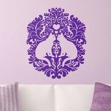 damask cats wall decal on damask sticker wall art with purrfect walls cozy wall art review and giveaway doing wheelies