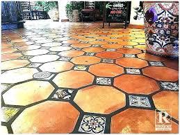 hexagon saltillo tile tiles home depot tile home depot tile octagon tile super tile home depot