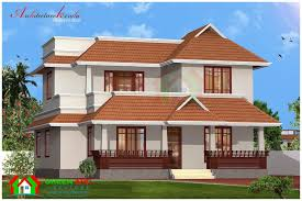 kerala traditional model house plans