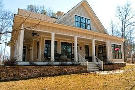 small house with wrap around porch southern living farmhouse plans one story modern single