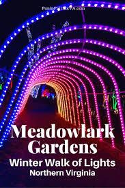 Meadowlark Gardens Winter Walk Of Lights Meadowlark Gardens Winter Walk Of Lights Holiday Fun In