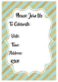 Birthday Invitations Printable Free Printable Whimsical Birthday Party Invitation Template Party