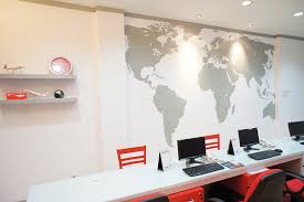 travel design home office. travel office interior design photo home a
