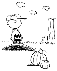 Small Picture Coloring Pages Kids Thanksgiving Peanuts Coloring Page Crafts