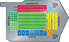 Uk Football Stadium Seating Chart Burnley Football Club Stadium Seating Plan