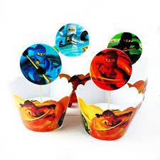<b>24pcs</b>/lot Phantom Ninja Spell Magic Paper Cupcake <b>Wrappers</b> ...