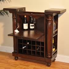 home bar furniture. Awesome Portable Home Bar Cabinet With Flip Top Table And Wine Storage Also Side Furniture R