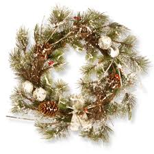 national tree company 24 in christmas artificial wreath national tree company wreaths l54
