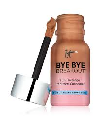 despite this concealer s um but buildable coverage it feels light as air on the skin plus it conns a slew of oil absorbing and zit fighting