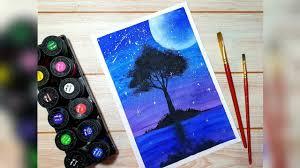 Vẽ tranh galaxy đơn giản với màu nước Thiên Long và giấy A4 cứng thông  thường. | Tổng hợp những bức tranh đẹp nhất - #1 trang kiến thức học tập số  1 hiện nay