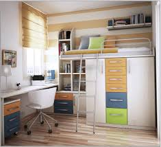 Loft Teenage Bedroom Store Ideas For Small Apartment Teenage Bedroom With Loft Bed And