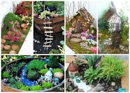 Small Picture Fairy Garden Ideas Inspiration for your own fairy garden