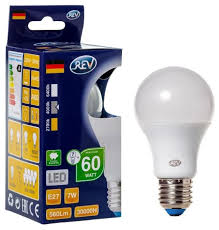 <b>Лампа светодиодная REV</b> 32265 8, E27, A60, <b>7Вт</b> — купить по ...