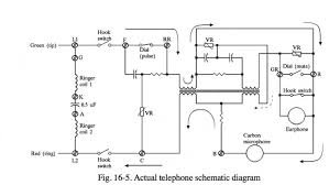 tracing a circuit of a modernish rotary telephone anyway here is a circuit that might help