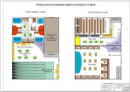 Диплом бизнес план досугового центра разработка финансовой модели  Досуговый центр план 1 и 2 этажей